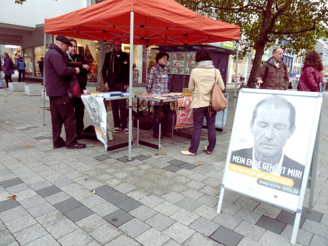 IBKA-Infostand in Hannover